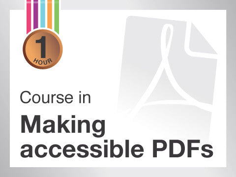 Course in Making accessible PDFs from Contented.com for New Zealand, Australia, Canada, the USA, the UK, Europe, Canada, China, India, Malaysia, Indonesia, Singapore, Thailand