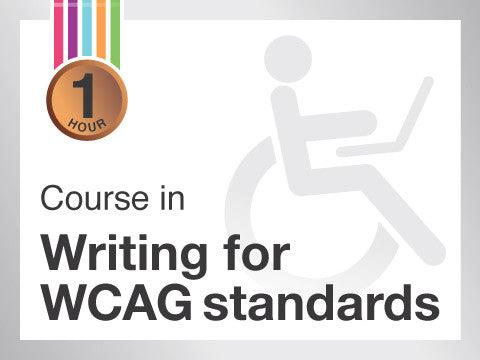 Course in Writing for WCAG 2 accessibility standards from Contented.com for New Zealand, Australia, Canada, the USA, the UK, Europe, Canada, China, India, Malaysia, Indonesia, Singapore, Thailand
