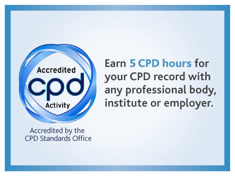 Online programme accredited by CPD standards office for accountants, lawyers, engineers, vets, doctors, nurses and other professionals who must complete continuing professional development
