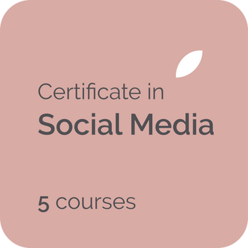 Social media certificate training for business owners, freelance writers, copywriters and communications professional needs in the UK, USA, Canada, NZ, Australia