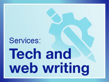 Technical writing, digital content writing, writing for the web and web writing services