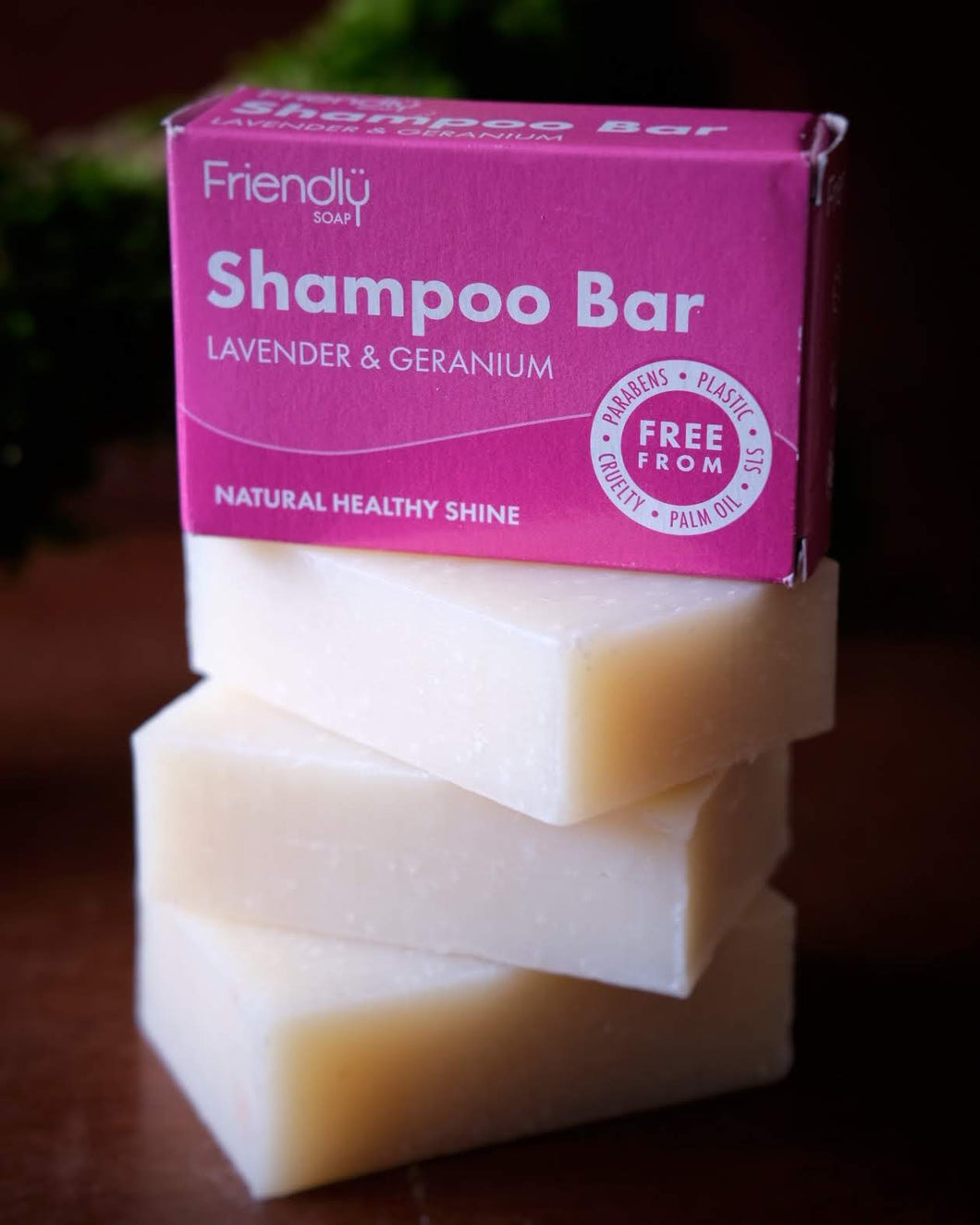 Friendly Soap Shampoo Bar - Lavender and Geranium