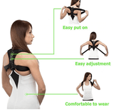 Posture Corrector Back Brace Shoulder Support Strap Men Women Fixer Upper