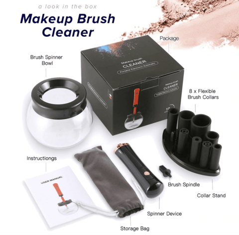 Makeup Brush Electric Cleaner Best Make Up Brushes Machine Clean Cosmetics Beauty