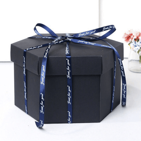 Explosion Gift Box DIY Surprise Picture For Love Birthday Photo Boyfriend Girlfriend Wife Husband