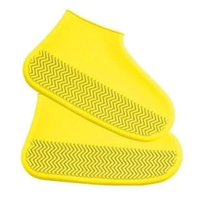 Ultra-elastic Waterproof Shoe Covers Non Slip Plastic Rain Reusable Rubber Cover Silicone Resistant
