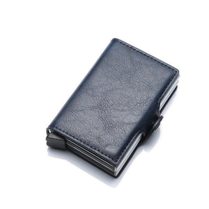 RFID Wallet Blocking Protection Card Holder Vintage Business Protective Best Block