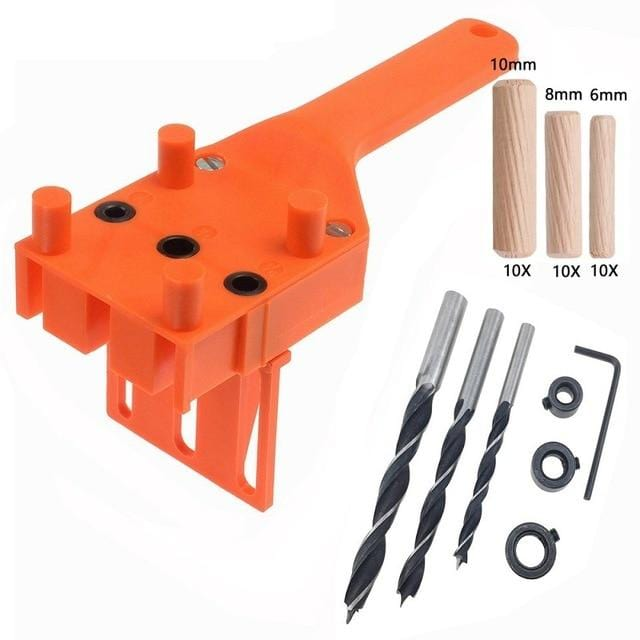 Pocket Hole Jig Screw Joinery Drill Tools Tool Woodworking Wood