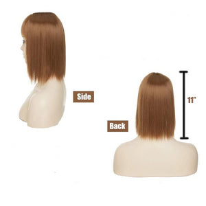 Hair Toppers Pieces For Women Clip On Crown Best Human Women's Curly Thin Thinning Topper Short Real Wigs Wig Top Of Head