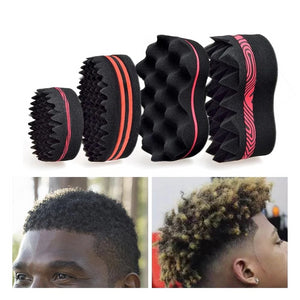 Hair Sponge Curl Brush Twist Curly Dread Afro Black Curly Men Man