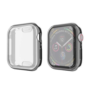 Apple Watch Cover Screen Protector Case iWatch Series 4 Protective 3 42mm 44mm 38mm Face 2 Bumper 1