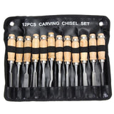 Wood Carving Tool Hand Knife Set Whittling Carve Chisels Chisel Kit Tools