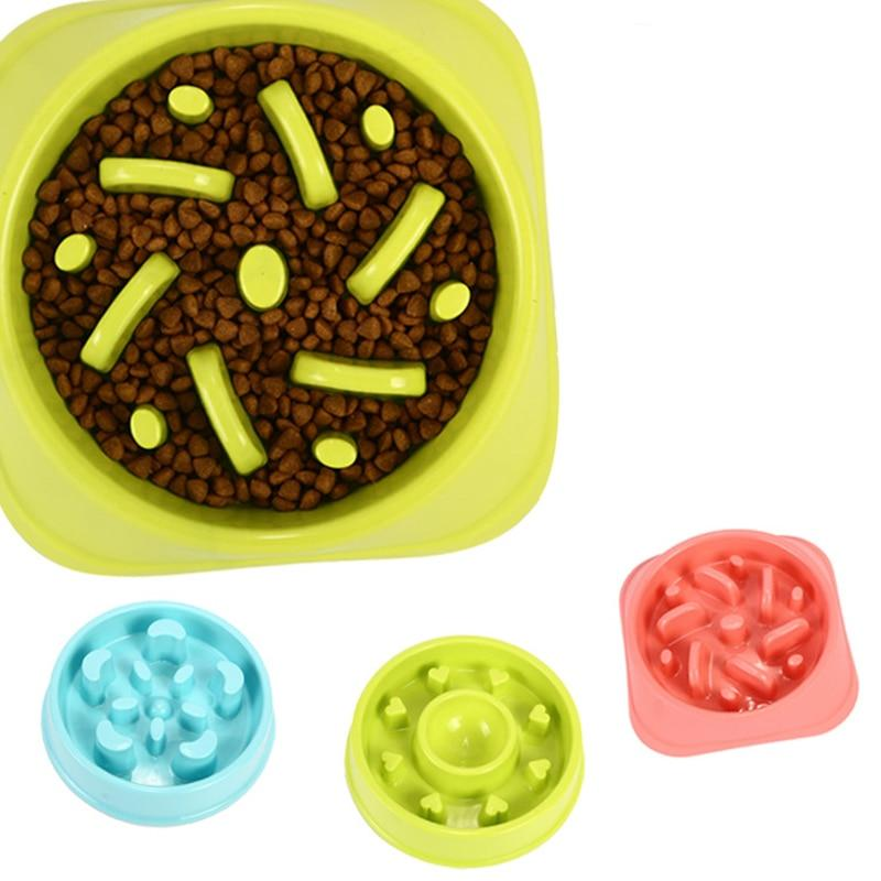 Slow Feeder Dog Bowl Eating Maze Puzzle Bowls Down Fast
