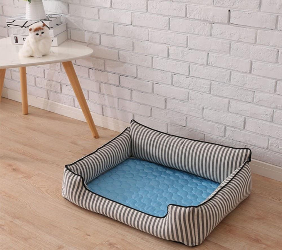 Dog Cooling Mat Bed Best Pad Dogs Pads Mats Beds Pet Pets Cool