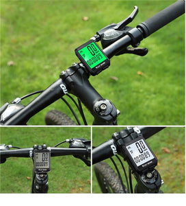 Bike Computer Wireless Speedometer Odometer Bicycle Cycling Cycle