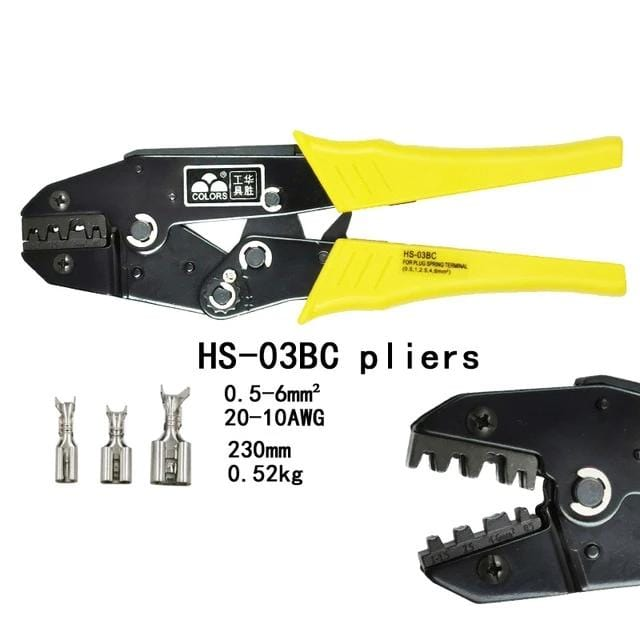 Wire Crimping Pliers Crimpling Electrical Cable Tool