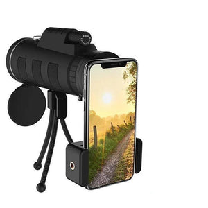 2019 New Waterproof 16X52 High Definition Monocular Telescope