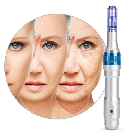 Dermapen Microneedling Pen Facial Treatment Dr Derma Needling Micro