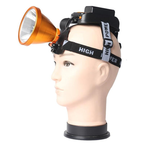 Super Bright Headlamp Rechargeable LED Spotlight USB Brightest Head Lamp
