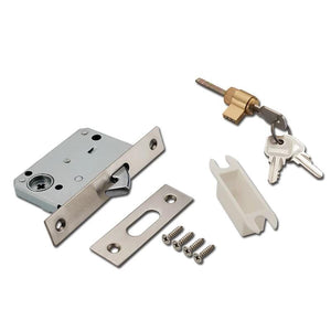 Sliding Door Lock Pocket With Key Home