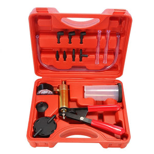 Brake Bleeder Kit Vacuum Power Lines Pump One Man Bleed