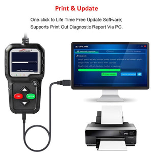 OBD2 Scanner Diagnostic Tool Reader Auto Code Automotive Car Scan Vehicle