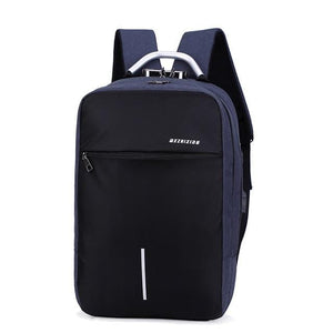 Backpack With Charger USB Charging Port Phone Anti Theft