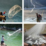 Fishing Net Cast Throwing Casts Fish Catch Bait