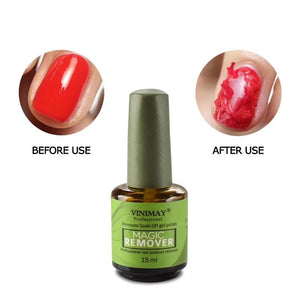 Gel Polish Remover Nail Soak Off Remove Removing At Home Nails Take