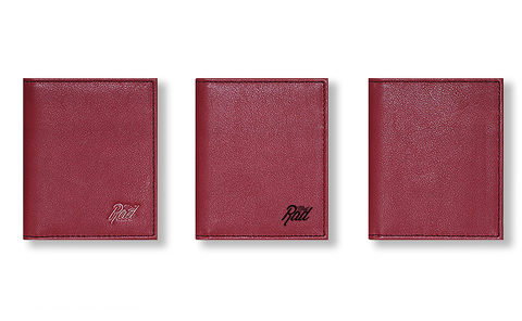 Minimalist Wallet (Red)