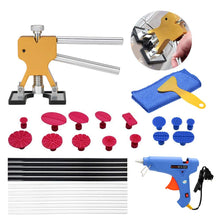 Load image into Gallery viewer, Car Paintless Dent Repair Removal Tools 29pcs Auto Dent Lifter Puller Glue Tabs Glue Gun Tools Glue Sticks Kit
