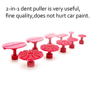 29pcs 2-in-1 Two Ways Puller Hammer Cars Paintless Dent Repair Tools Kit