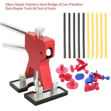 Load image into Gallery viewer, 29pcs Repair Stainless Steel Bridge of Cars Paintless Dent Repair Tools Kit Suit of Auto