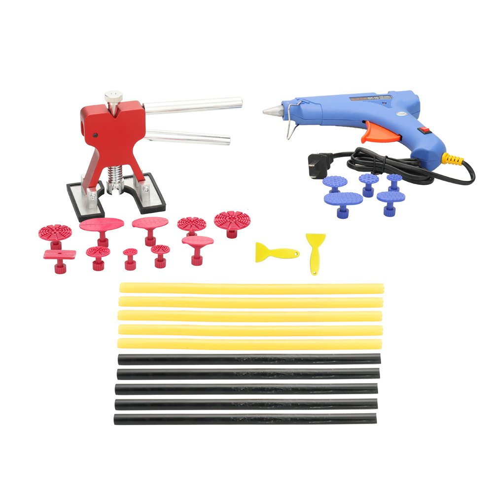 29pcs Repair Stainless Steel Bridge of Cars Paintless Dent Repair Tools Kit Suit of Auto