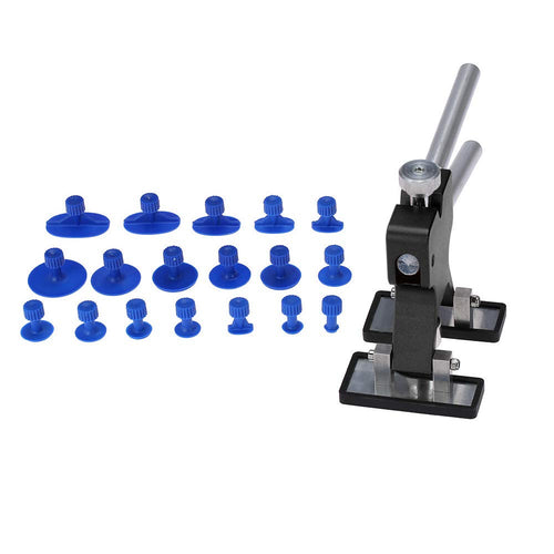 Car Body Paintless Dent Lifter Repairing Tool Puller with 18pcs Glue Tabs Hail Removal Tool