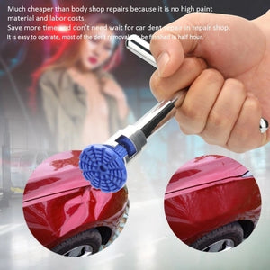 19pcs Short Puller Slide Hammer Tabs Suction Cup Hand of Cars Paintless Dent Repair Tools Kit Suit of Auto