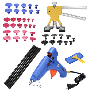 Auto Car Body Paintless Dent Puller Dent Lifter Repairing Removal Hail Glue Machine Tools Kit