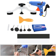 Load image into Gallery viewer, Car Boday Paintless Dent Repair Tools Kit Bridge Dent Puller Removal Tool with Glue Gun Glue Sticks