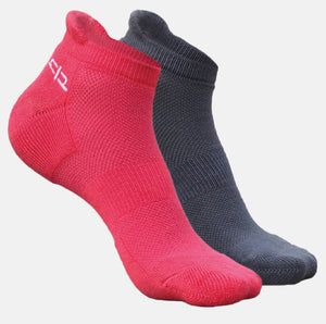 Bamboo Women Ankle Socks - 2 Pairs