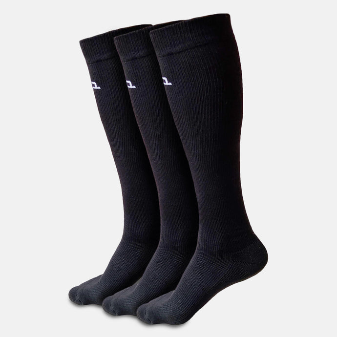 Bamboo Compression Socks - 3 Pairs
