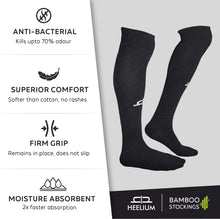 Load image into Gallery viewer, Bamboo Sports Stockings - 3 Pairs