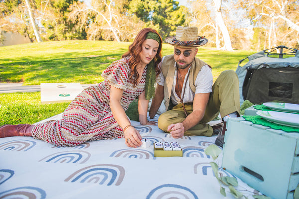 Creative Day Date Ideas Featuring The California Beach Blanket