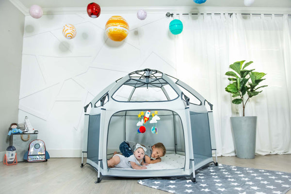 Running out of Play Date Ideas? Build an Epic Fort with the Pop 'N Go Playpen