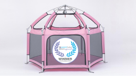 The Pop 'N Go Playpen earned the PTPA Seal of Approval