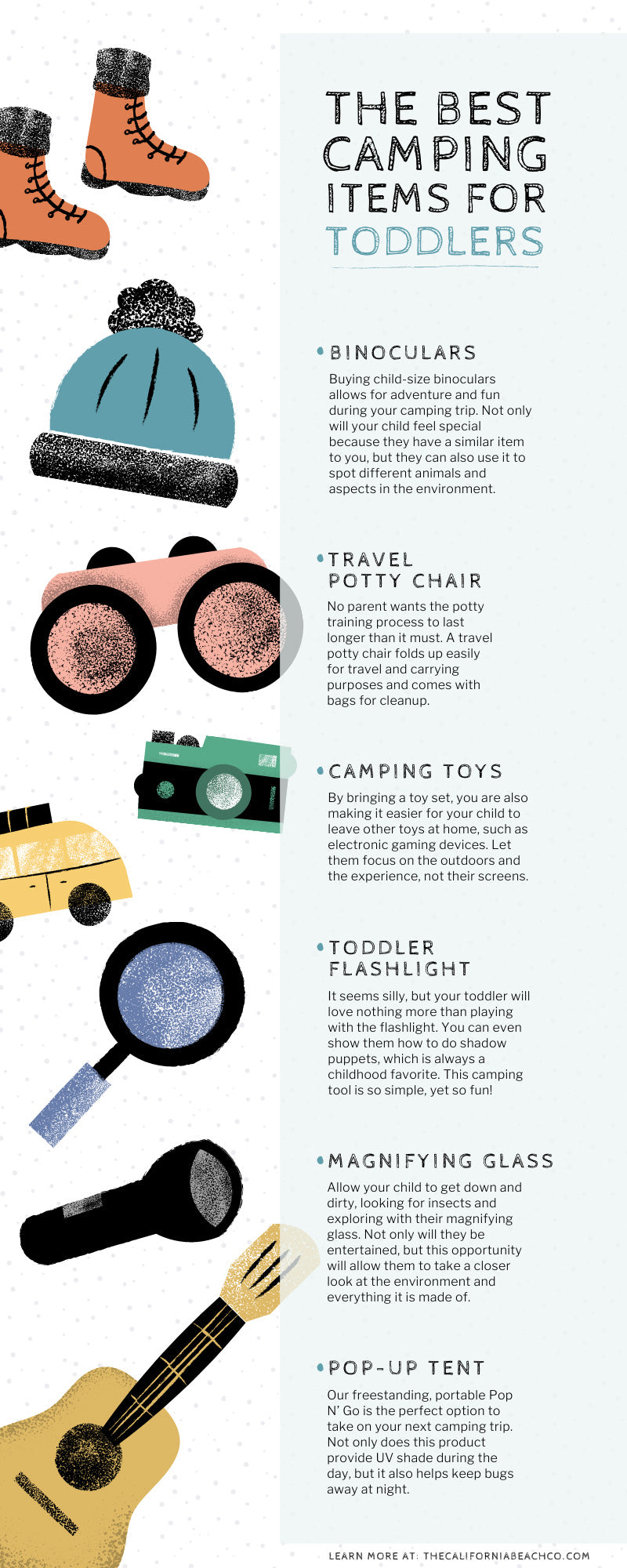 The Best Camping Items for Toddlers