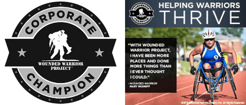 Wounded Warrior Project Champion Banner