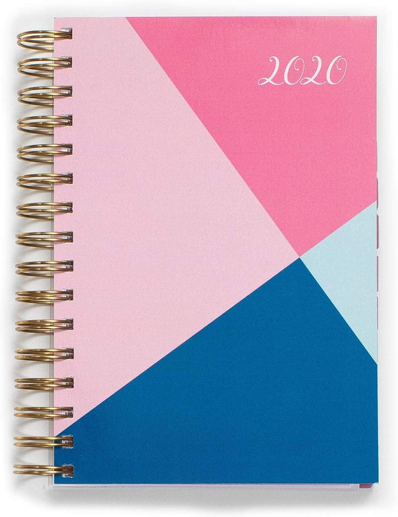 2020 KIT Lite Daily Planner | Monthly Calendars, Appointment Book, 5.5 x 8, Premium Paper, Chic Fashionable
