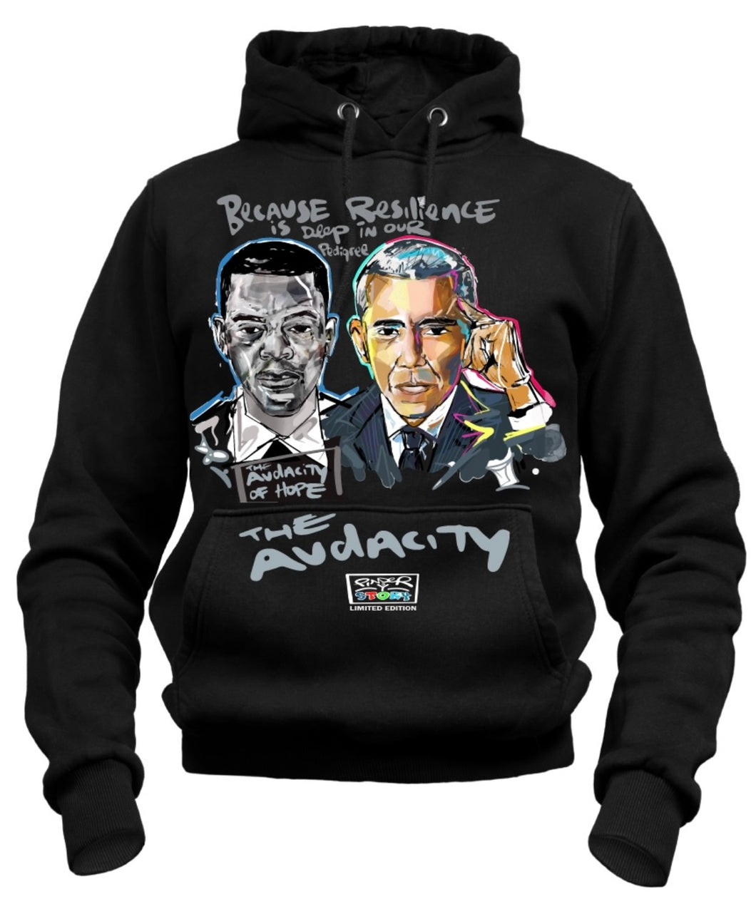 Barrier Breakers ::: The Audacity  ::: Limited Edition John Lewis/Barack Obama (Youth)