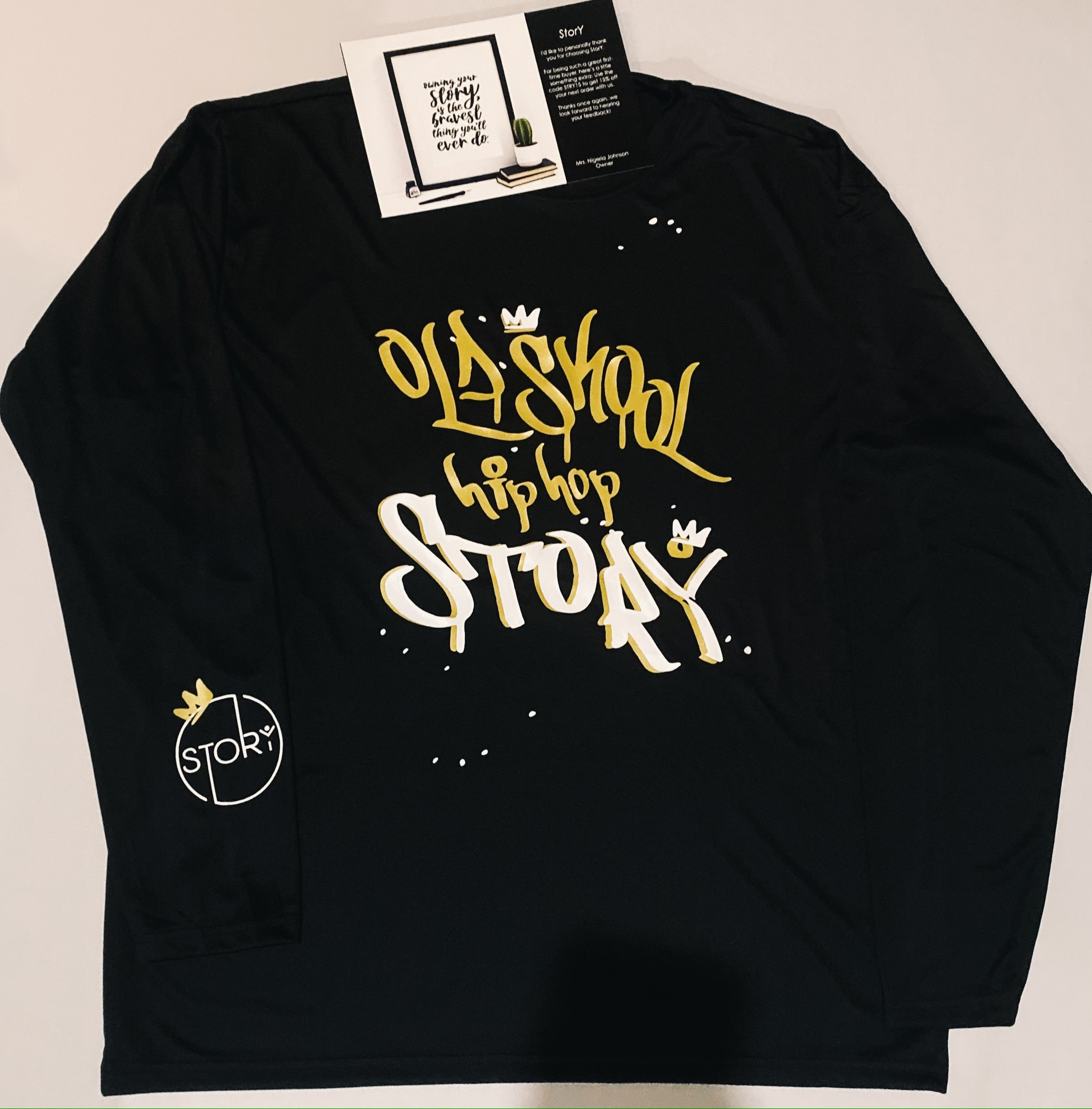 Long Sleeve Hip Hop StorY