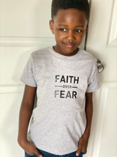 Load image into Gallery viewer, Youth Faith Over Fear T-shirt (Unisex)